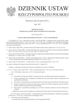 Prawo o zgromadzeniach