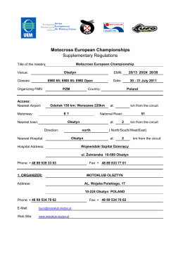Motocross European Championships