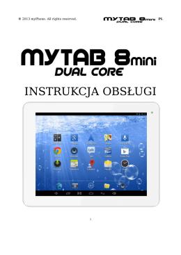 Instrukcja obsługi tabletu