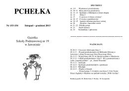listopad - grudzień 2013 - Szkoła Podstawowa nr 19 w Jaworznie