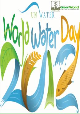 międzynarodowy dzień wody
