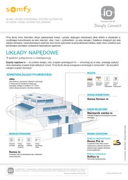 Karta katalogowa produktu (PDF) - IO