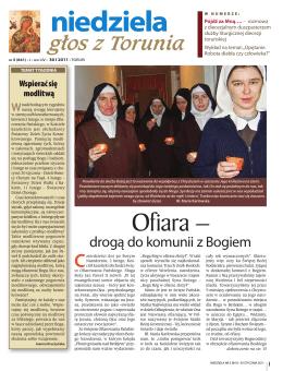 niedziela - Głosu z Torunia
