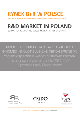 Rynek B+R w Polsce - Polish Agency for Foreign Investment
