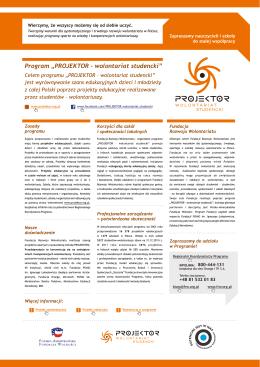 projektor - Fundacja Rozwoju Wolontariatu