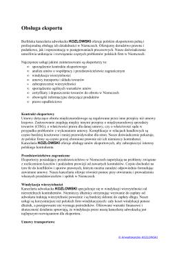 kancelaria KOZLOWSKI obsługa eksportu.pd[...]