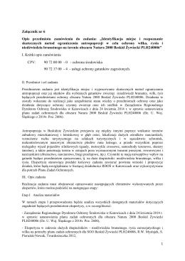 zamówienie RDOŚ Katowice WOF-I.261.25.2014