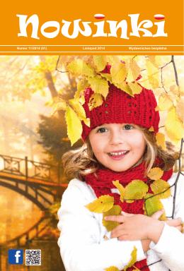 Numer 11/2014 (61) Listopad 2014 Wydawnictwo bezpłatne
