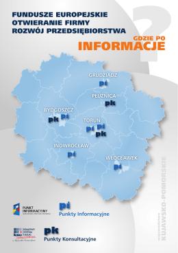 Punkty Konsultacyjne i Punkty Informacyjne w województwie