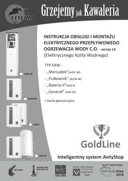 instrukcja obsługi - GOLD