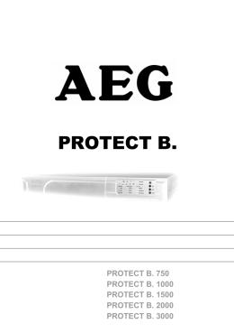 UPS PROTECT B.750 - B.3000