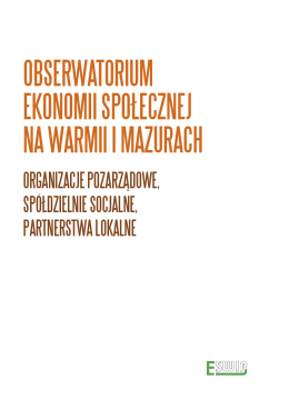 obserwatorium ekonomii społecznej na warmii i mazurach