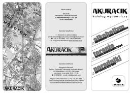 Akuracik - katalog wydawmiczy PDF