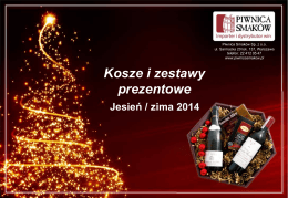 naszą ofertą jesień / zima 2014!
