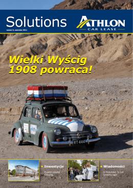 Wielki Wyścig 1908 powraca!