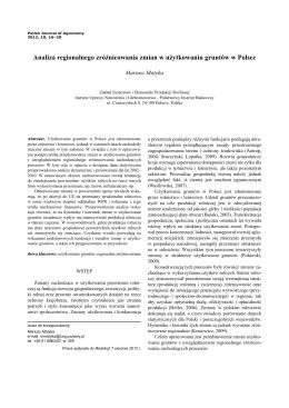 Pełny tekst / Full text - Instytut Uprawy Nawożenia i Gleboznawstwa