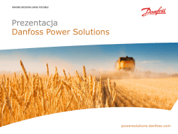 Prezentacja Danfoss Power Solutions