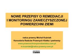 Pełna treść wykładu na temat nowelizacji prawa ochrony