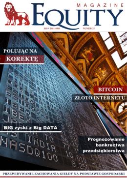Artykuł sponsorowany w magazynie Equity