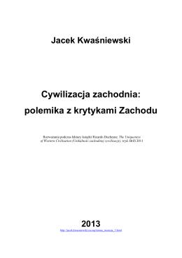 wersja pdf - Kwaśniewski, Jacek