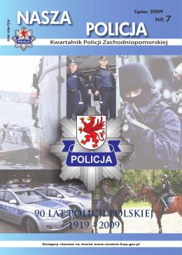 NASZA POLICJA - Komenda Wojewódzka Policji w Szczecinie