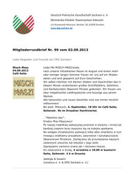 m99 vom 2 9 13.pdf - Deutsch-Polnische Gesellschaft Sachsen e. V.