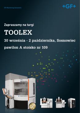 Zaproszenie na targi TOOLEX