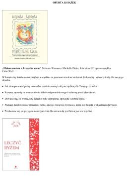 Oferta książek z Makrobiotyki