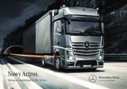 """""""Nowy Actros. Transport dalekobieżny. 18–26 ton"""" (PDF, 9,7 MB)"""