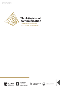 ENG/PL - Thinking in visual communication
