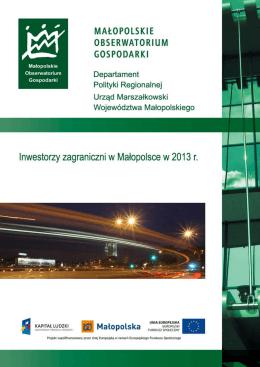Zobacz raport - Centrum Business in Małopolska