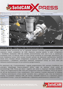 SolidCAM Xpress (PDF)