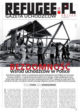 wśród uchodźców w Polsce - Refugee.pl Gazeta Uchodźców