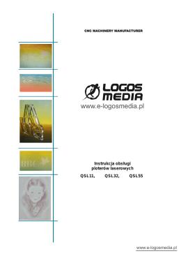 instrukcja obsługi ploterów laserów z serii QSL
