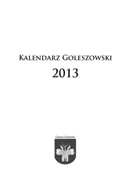 Kalendarz Goleszowski 2013