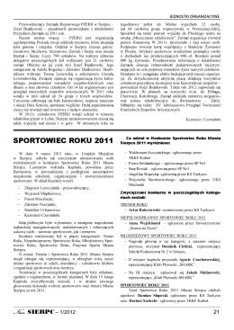 Strony 21-40 - Urząd Miejski w Sierpcu