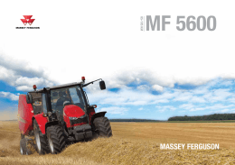 Ciągniki rolnicze Massey Ferguson – seria 5600 - ROL