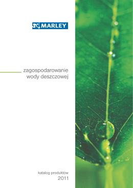 Katalog systemów - zagospodarowanie wody