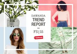 TREND REPORT –
