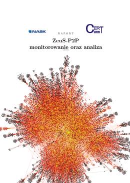 ZeuS-P2P monitorowanie oraz analiza