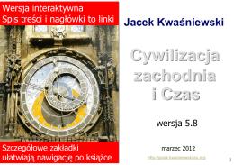 Cywilizacja zachodnia i Czas - Kwaśniewski, Jacek
