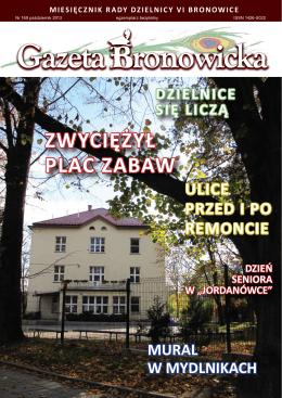 ZWYCIĘŻYŁ PLAC ZABAW - Bronowice, Dzielnica VI Krakowa
