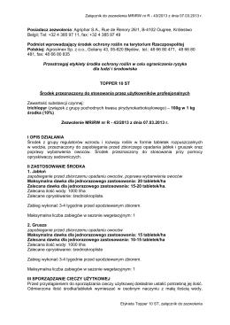 Novodor SC - Agrosimex