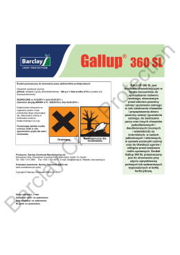 Gallup® 360 SL Label