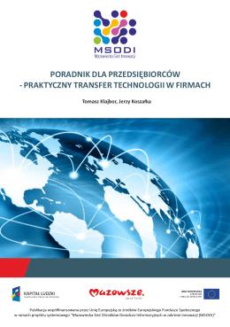 praktyczny transfer technologii w firmach - MSODI