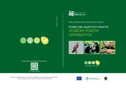 Podręcznik najlepszych praktyk ochrony ptaków szponiastych