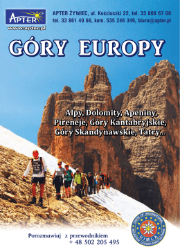 GÓRY EUROPY