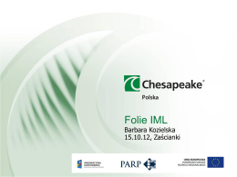 Folie IML - Chesapeake