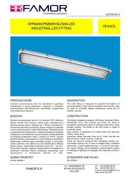 oprawa przemysłowa led industrial led fitting of4347l