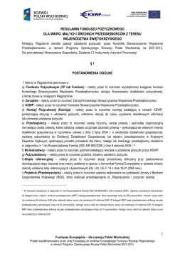 Regulamin Data dodania - Koneckie Stowarzyszenie Wspierania